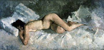 Liegender Akt, George Hendrik Breitner - 1887 von Atelier Liesjes