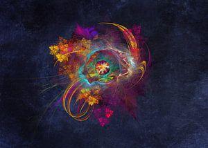 Fraktale abstrakte Kunst Andere Seite #Fraktale #Abstrakt