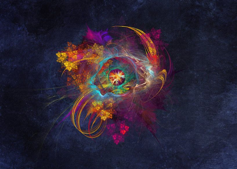 Fraktale abstrakte Kunst Andere Seite #Fraktale #Abstrakt von JBJart Justyna Jaszke