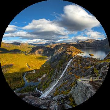 Dream landscape van Niels Tichelaar
