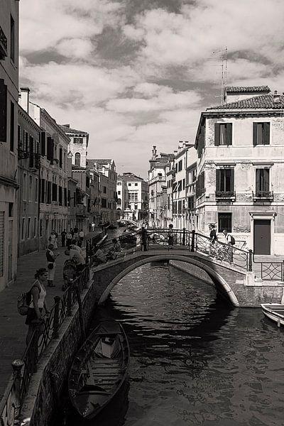 De waterwegen van Venetie, Italie van Jaap van Lenthe