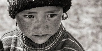Kind im Zanskar-Tal von Affectfotografie