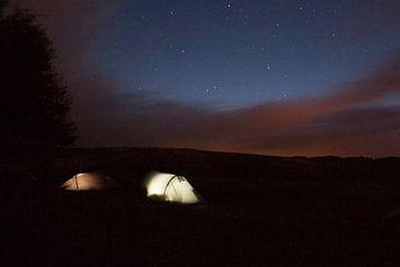 Slapen onder de sterrenhemel van Wilbert Van Veldhuizen