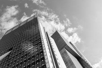 Bürowohnungen schwarz-weiß nachschlagen von Patrick Verhoef