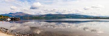 Luss am Loch Lomond in Schottland von Werner Dieterich