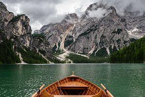 Lago di Braies (Italië) van