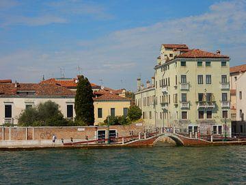 Brug in Venetië van Joke te Grotenhuis