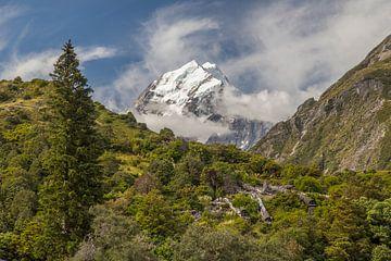 Mount Cook, Nieuw-Zeeland sur Willem Vernes