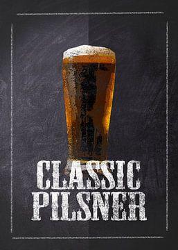 Bier - Klassisches Pilsner von JayJay Artworks
