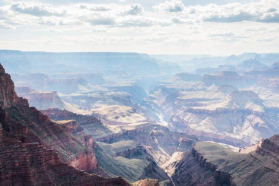 Uitzicht Grand Canyon National Park van Frenk Volt