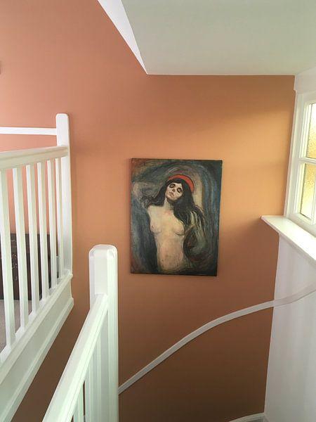 Kundenfoto: Madonna, Edvard Munch, auf leinwand