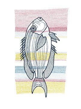 Stiche - Fisch von > VrijFormaat <