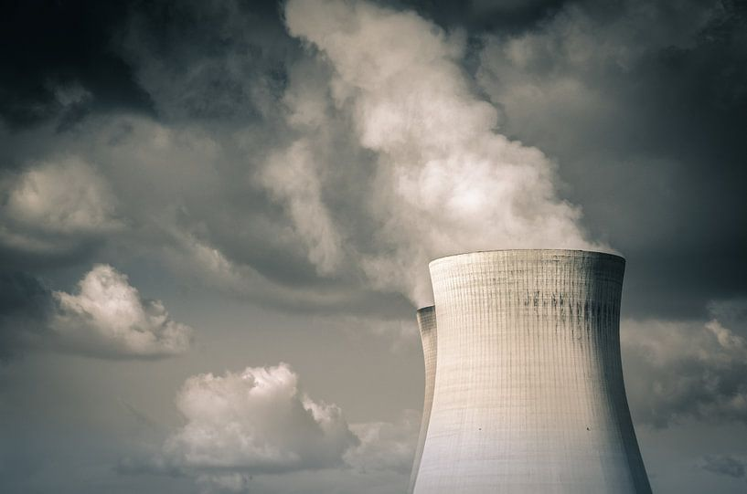 Nuclear power (Doel, Belgium) van Alessia Peviani