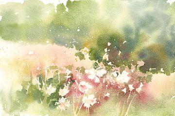 Floraal veld, Katrina Pete van Wild Apple