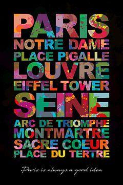 Paris muss sehen von Harry Hadders