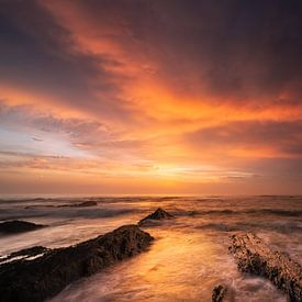 Burning Sky van Rob Christiaans