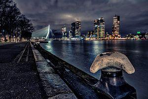 Westerkade bei Nacht, Rotterdam von Anton Osinga