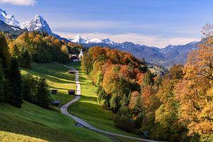 Herbst in Bayern von Achim Thomae