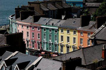 Huizen in Cobh, Ierland van Marcel Admiraal