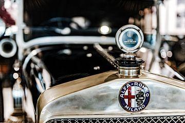 Alfa Romeo grille en radiator ornament von autofotografie nederland
