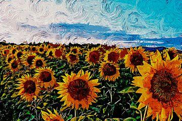 Sonnenblumen von Peter Roder