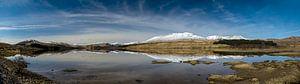 Schottland Panorama Skyfall von Anja Van Geert