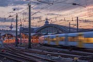 Centraal Station, Treinstation, Keulen van Torsten Krüger