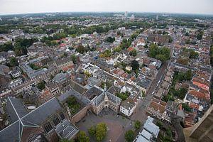 Uitzicht over Domplein. Utrecht