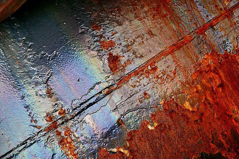 Rusty pipe, von Alice Berkien-van Mil