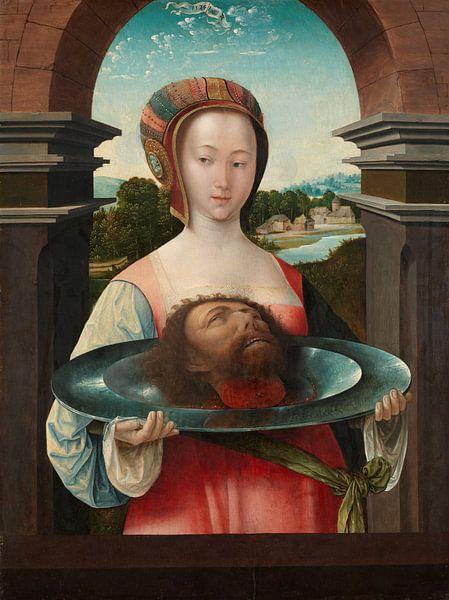 alome mit dem Haupt von Johannes dem Täufer, Jacob Cornelisz. von Oostsanen, 1524. von Marieke de Koning