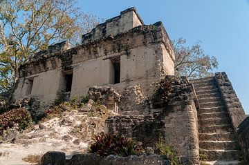 Guatemala: Tikal (Yax Mutal) van Maarten Verhees