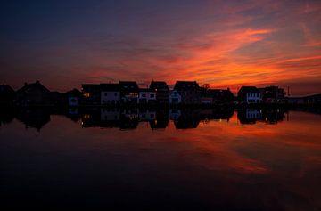 Bunter Sonnenuntergang von Marc Vandijck