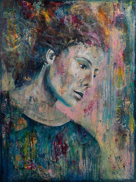 Color Flow van Flow Painting