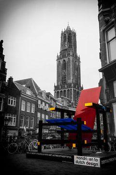 Rietveld und der Domturm von Jan van der Knaap
