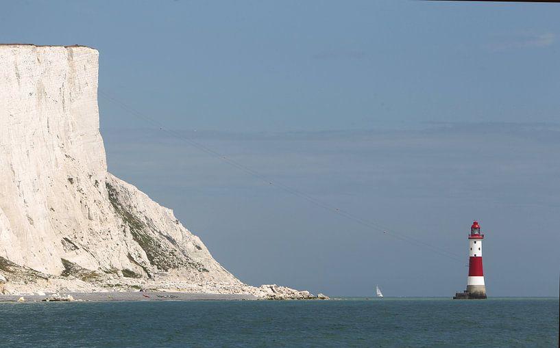 Beachy Head Lighthouse van Sybrand Treffers