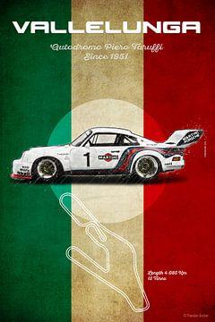 Reims Racetrack Vintage van Theodor Decker
