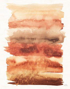 Desert Blooms Abstract I Fall, Laura Marshall van Wild Apple