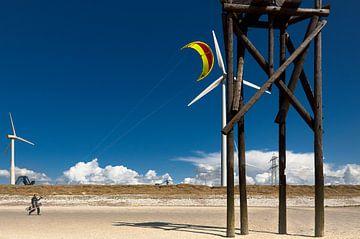 Kite surfer sur Sonja Pixels