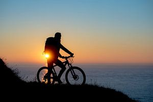 Bike at sea sur Ruben Dario