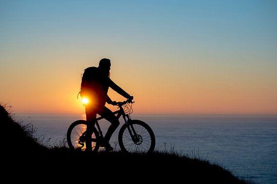Bike at sea
