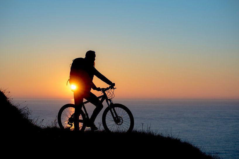 Bike at sea van Ruben Dario