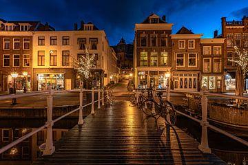 Leiden in Lockdown: Sint Sebastiaanbrug van Carla Matthee