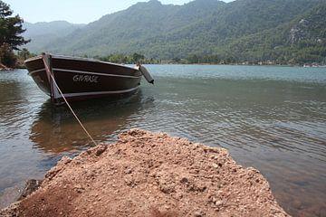 Mamaris Turkije boot von Lisa Hartjes