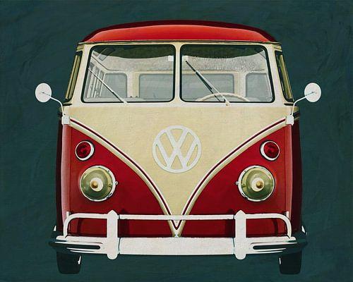 Volkswagen Combi Deluxe Deluxe 1963 Frontansicht
