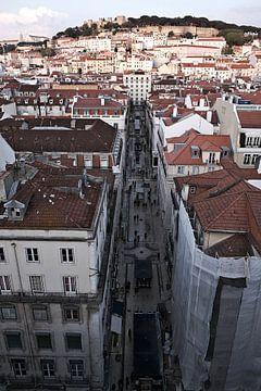 Castelo de São Jorge Lissabon van Eric Sweijen