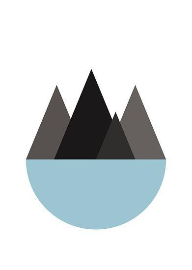 bergen en zee