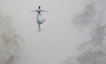 Die Seiltänzerin von Petra Kaindel