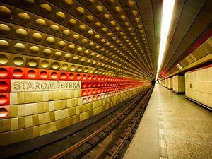 Metrostation in Praag