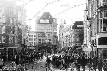 Koningsplein Amsterdam van Elmar Marijn Roeper