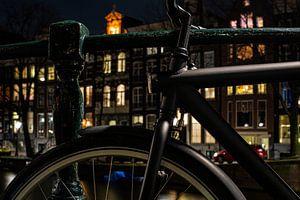 geparkeerde fiets van Bart Hagebols